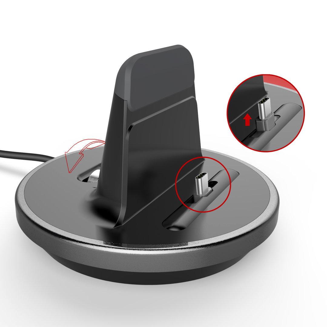 kidigi usb type c desktop charger dock samsung galaxy s9. Black Bedroom Furniture Sets. Home Design Ideas